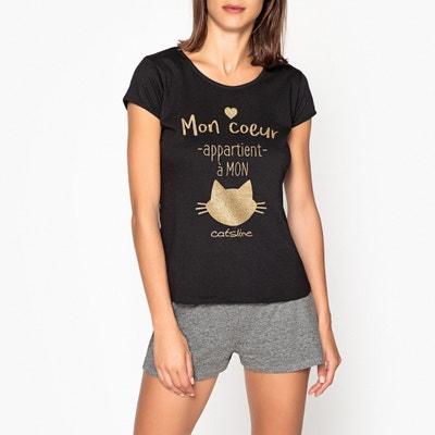 Pyjashort met korte mouwen Catsline Pyjashort met korte mouwen Catsline CATSLINE