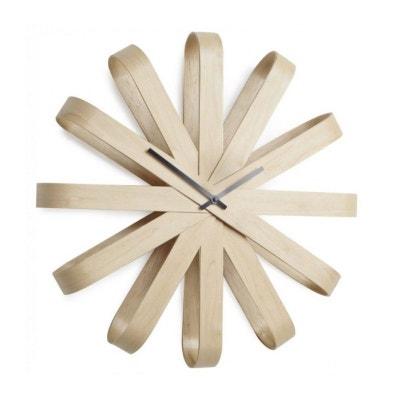 Horloge Design en Bois RibbonWood - Umbra UMBRA