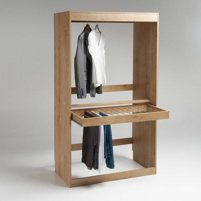 Módulo guarda-fatos, varão + porta-calças, Build La Redoute Interieurs