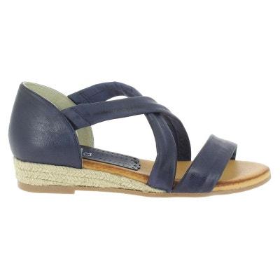 bb7c588a4dae1 Nu pied femme bleu en solde   La Redoute