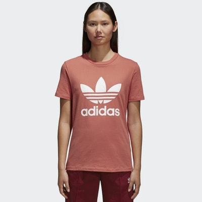 T-shirt scollo rotondo maniche corte T-shirt scollo rotondo maniche corte Adidas originals