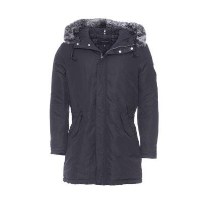 Manteau Long Avec Capuche Fourrure En Solde La Redoute