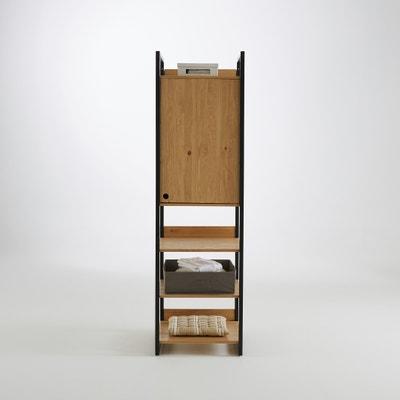 Módulo compartimento em pinho maciço tingido, Hiba La Redoute Interieurs