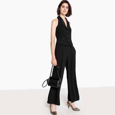 Kombinezon ze spodniami, bez rękawów, odkryte plecy Kombinezon ze spodniami, bez rękawów, odkryte plecy La Redoute Collections