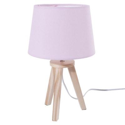lampe scandinave 3 pieds en bois rose lampe scandinave 3 pieds en bois rose decoratie - Luminaire Scandinave