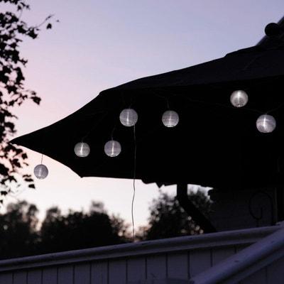 RICE BALL - Guirlande LED d'extérieur 10 lampions Blanc 14,5m BEST SEASON