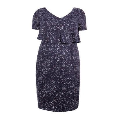 Printed Frill Top Dress KOKO BY KOKO