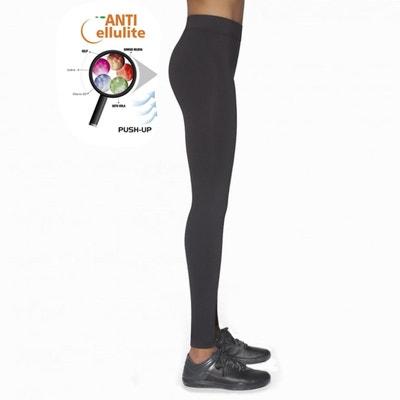Legging long pour le Sport Anti-cellulite Riley 300DEN BAS BLEU