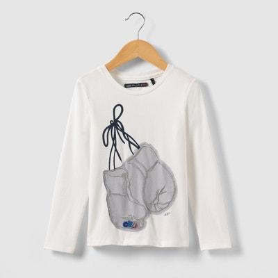 Long-Sleeved Boxing Gloves T-shirt, 3-14 Yrs Long-Sleeved Boxing Gloves T-shirt, 3-14 Yrs IKKS JUNIOR
