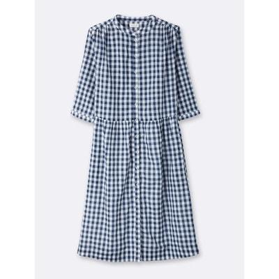 Robe-chemise femme en vichy CYRILLUS