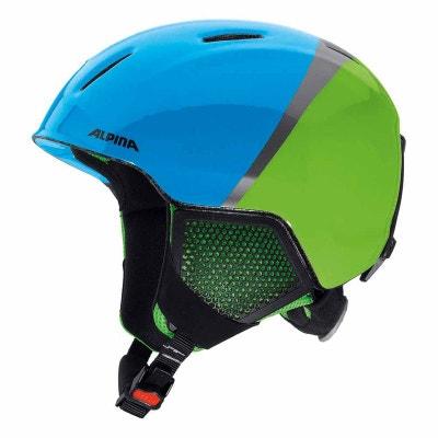 Carat LX - Casque de ski Enfant - vert/bleu ALPINA