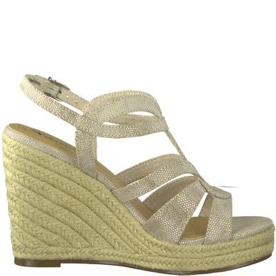 Sandalen met sleehak Cynara TAMARIS