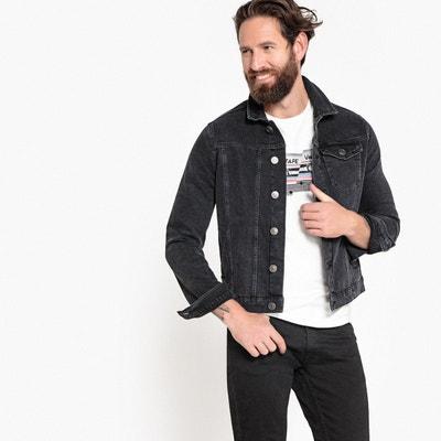 Veste en jean coupe droite Veste en jean coupe droite LA REDOUTE  COLLECTIONS. Soldes b2d7e93130a6