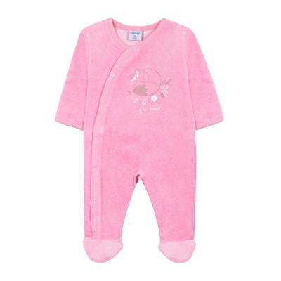 Pyjama velours 3 mois - 2 ans Pyjama velours 3 mois - 2 ans ABSORBA