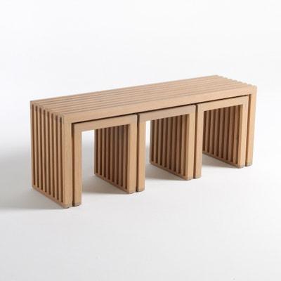 Amalia 4-Piece Stowaway Garden Set La Redoute Interieurs