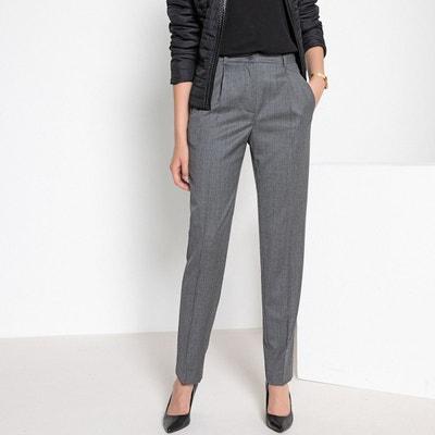 Pantalon droit fuselé, 98% laine Pantalon droit fuselé, 98% laine ANNE WEYBURN