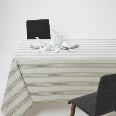 Ferm Striped Tablecloth La Redoute Interieurs