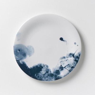 Plato de postre de porcelana Encira (lote de 4) Plato de postre de porcelana Encira (lote de 4) AM.PM.