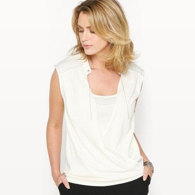 T-shirt cotone & modal ANNE WEYBURN