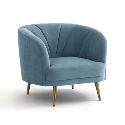 Кресло велюровое LEONE Кресло велюровое LEONE La Redoute Interieurs