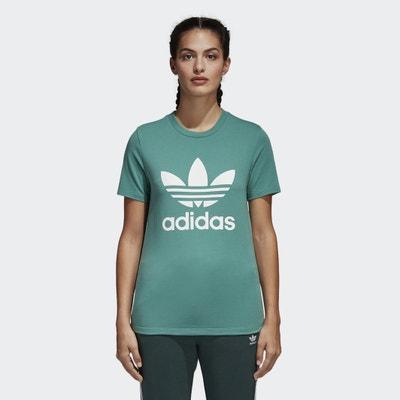 T-shirt con scollo rotondo, maniche corte T-shirt con scollo rotondo, maniche corte Adidas originals