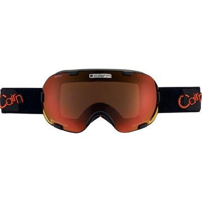 Masque de ski mixte CAIRN Noir Mat SPIRIT Noir Mat/Orange SPX 3000 CAIRN