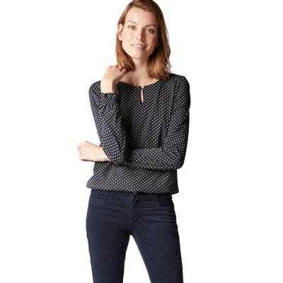 Marc Shirt Tee Femme OpoloLa Redoute Manche Longue FKJcT3l1