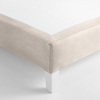 sommier gris la redoute. Black Bedroom Furniture Sets. Home Design Ideas