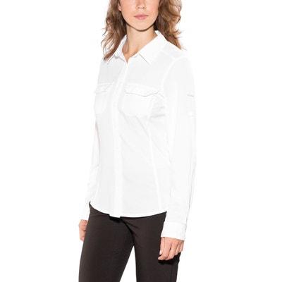 2f8420f369a6a Saturday Trail III - T-shirt manches longues Femme - blanc Saturday Trail  III -. COLUMBIA