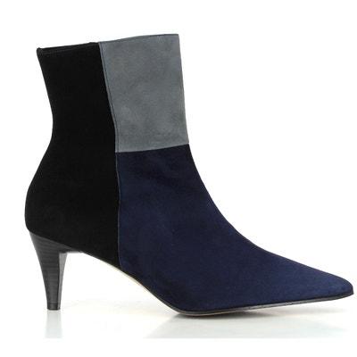 Marques Chaussure femme Elizabeth Stuart femme Havys 300 Daim Bleu 2