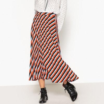 Jupe longue plissée à rayures Jupe longue plissée à rayures SISTER JANE