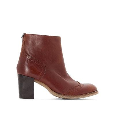 Femme En La Marron Solde Talon Chaussures Redoute dOx1Wpndw