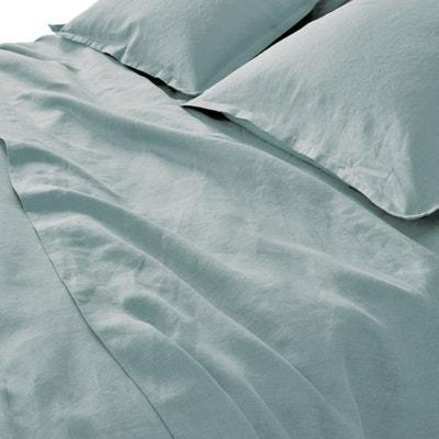 100% Pre-Washed Linen Flat Sheet 100% Pre-Washed Linen Flat Sheet La Redoute Interieurs