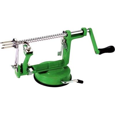Épluche pommes professionnel - Épluche tranche et évide - Vert LINXOR