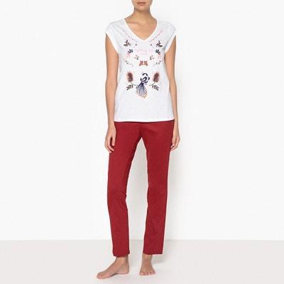 Pyjama en coton, imprimé La Redoute Collections