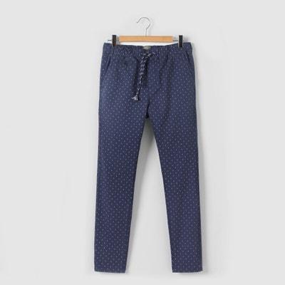 Pantaloni fantasia di micro-motivi 10-16 anni Pantaloni fantasia di micro-motivi 10-16 anni La Redoute Collections