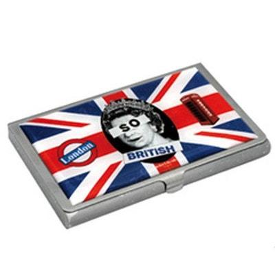 Etui Mtal Pour Cartes De Visite So British