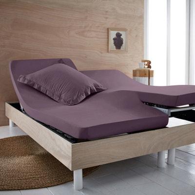 Drap-housse pur coton biologique pour lit articulé Drap-housse pur coton biologique pour lit articulé SCENARIO