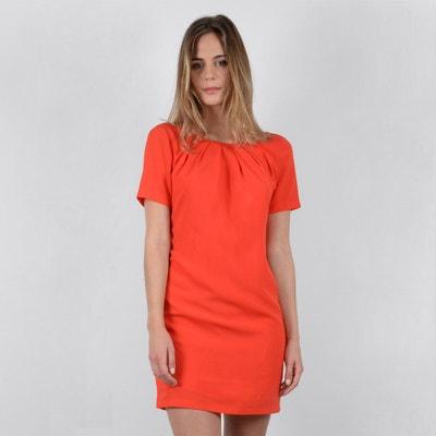 Kleid mit gerader Schnittform und kurzen Ärmeln, unifarben MOLLY BRACKEN