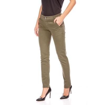a766c4157063d Pantalon chino taille haute Pantalon chino taille haute BEST MOUNTAIN.  Soldes