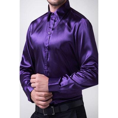 Homme La Chemise Solde En Violette Redoute Cxx7q6w