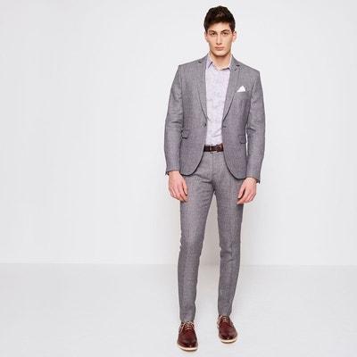 Veste de costume en laine et lin Homme Veste de costume en laine et lin  Homme f058aa661e90