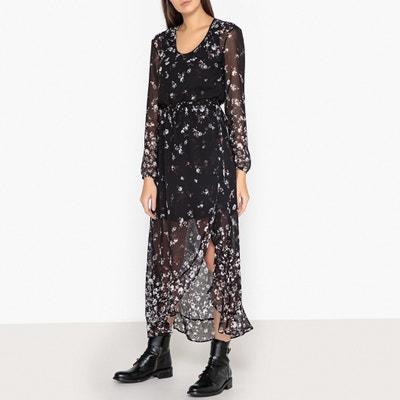 Floral Print Maxi Dress Floral Print Maxi Dress IKKS
