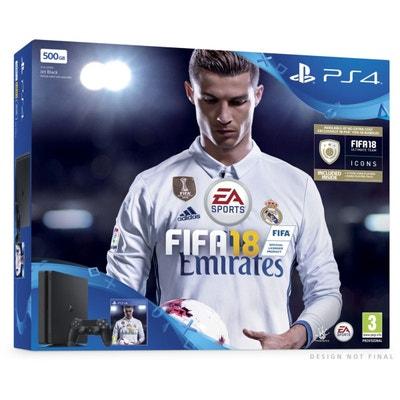 Console PS4 SONY PS4 500Go Noire + FIFA 18 SONY