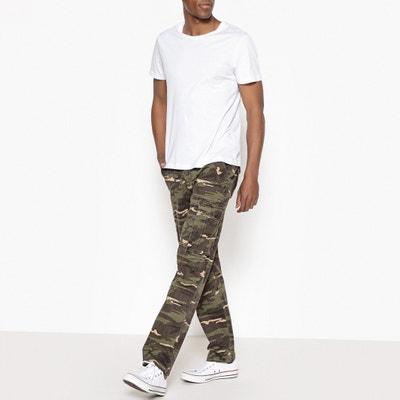 Pantalón cargo regular estilo camuflaje La Redoute Collections
