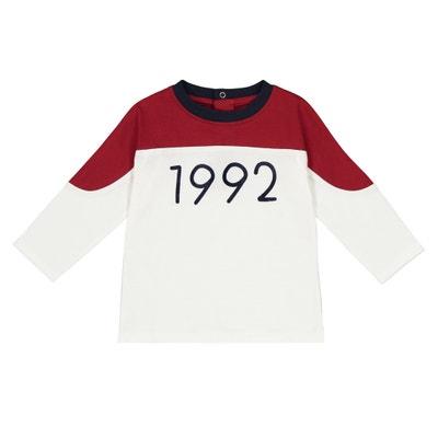 T-shirt a maniche lunghe da 1 mese a 3 anni T-shirt a maniche lunghe da 1 mese a 3 anni La Redoute Collections
