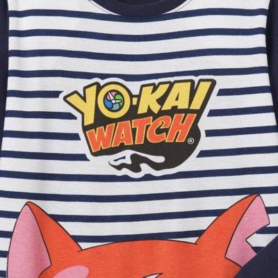 Bedrukte pyjama Yo Kai Watch met lange mouwen Bedrukte pyjama Yo Kai Watch met lange mouwen YO KAI WATCH