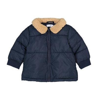 Blusão com gola em imitação pelo, 3 meses-3 anos Blusão com gola em imitação pelo, 3 meses-3 anos La Redoute Collections