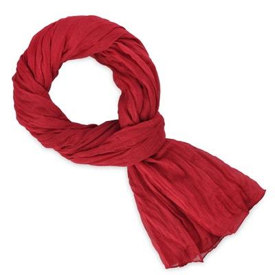 392e489736a0c Chèche coton rouge baiser uni Chèche coton rouge baiser uni ALLEE DU FOULARD