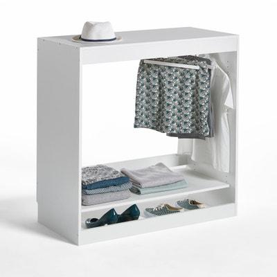 Build 1-Shelf Wardrobe Storage Unit with Hanging Rail La Redoute Interieurs